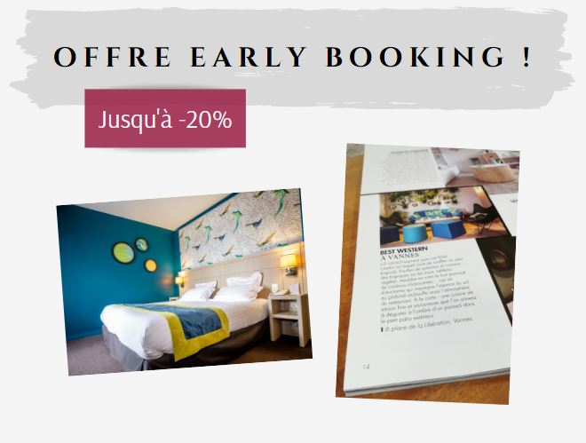 offre hôtel vannes early booking