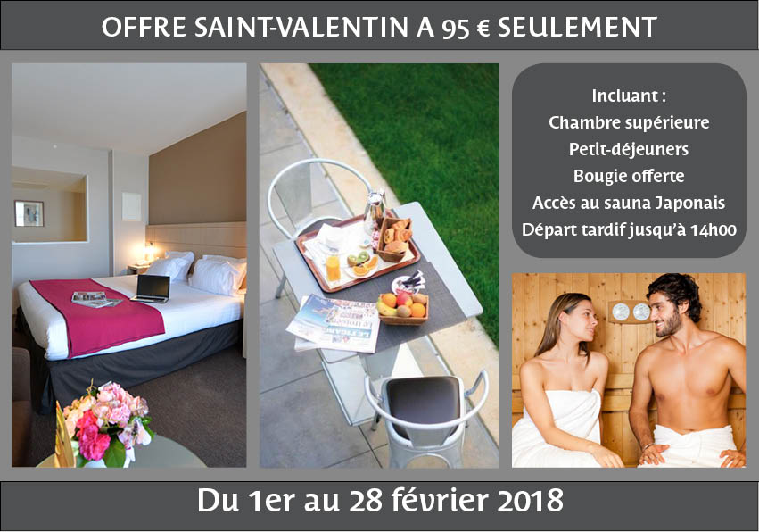 Saint Valentin  Restaurant Morbihan