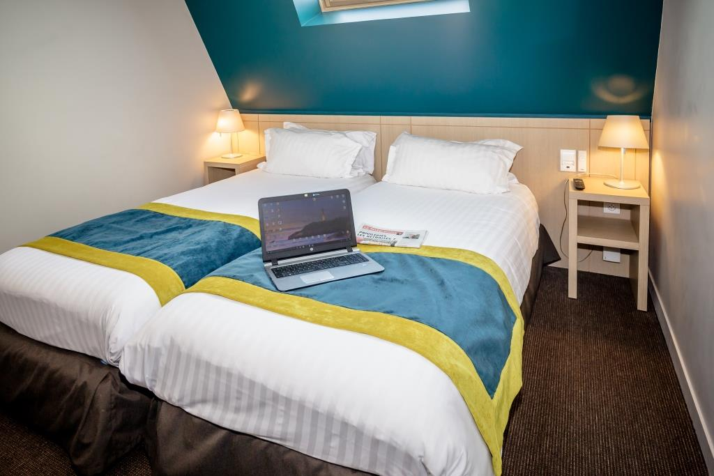 Twin Room Vannes center