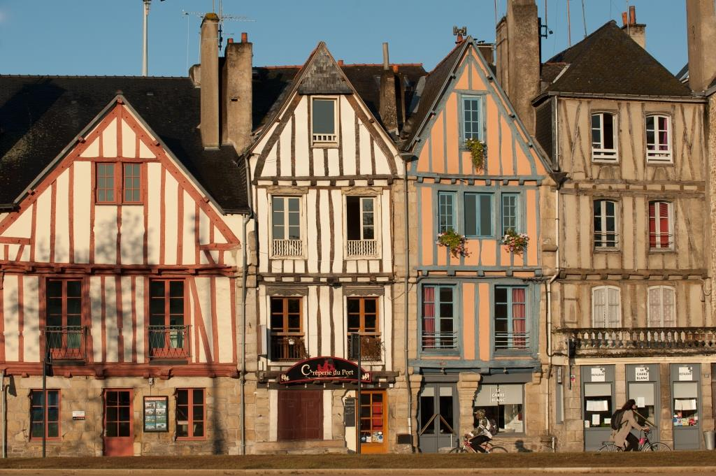 Timbered houses Vannes hotel Vannes city center